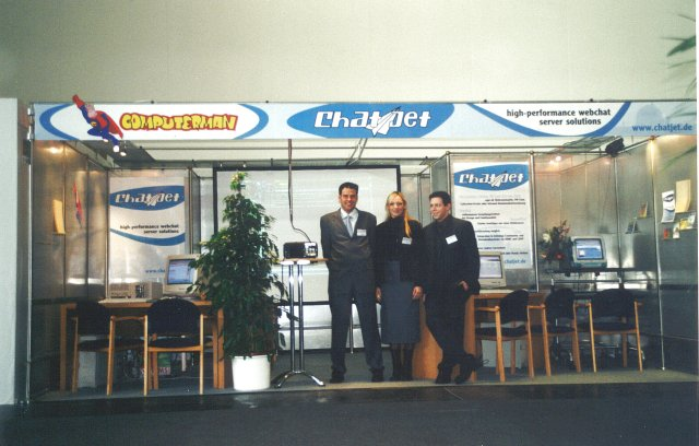 Erster Messestand - Systems 2000 in München